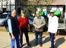 von links: Michael Gorris, 2. Vors., Michael Nienhaus 1. Vors. Feldbahn Schermbeck, Ulrich Schwarz, Geschäftsführer Lebenshilfe Werke Trier GmbH, Rainer Deutzmann, Schriftführer Feldbahn Schermbeck.