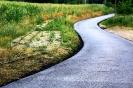 Der neue Zufahrtsweg