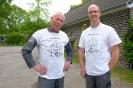 Unsere Kollegen Thorsten und Harald von der Historischen Feldbahn Hofgut Serrig ( bei Saarburg).