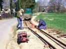 2013-04-20 Gleisbauarbeiten