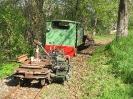 2005-04-23 Rasenmäherlore im Einsatz.